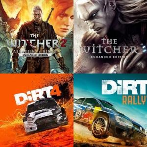 Cupón -90% GAMIVO - The Witcher 1 o 2, DiRT 4 o Rally, WRC 7 a céntimos