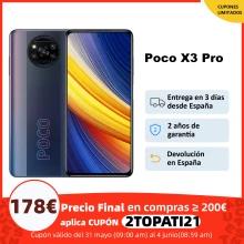 Poco X3 pro 6/128 179€ 8/256 221€ (desde España)