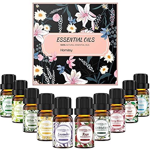 10 aceites esenciales Florales.
