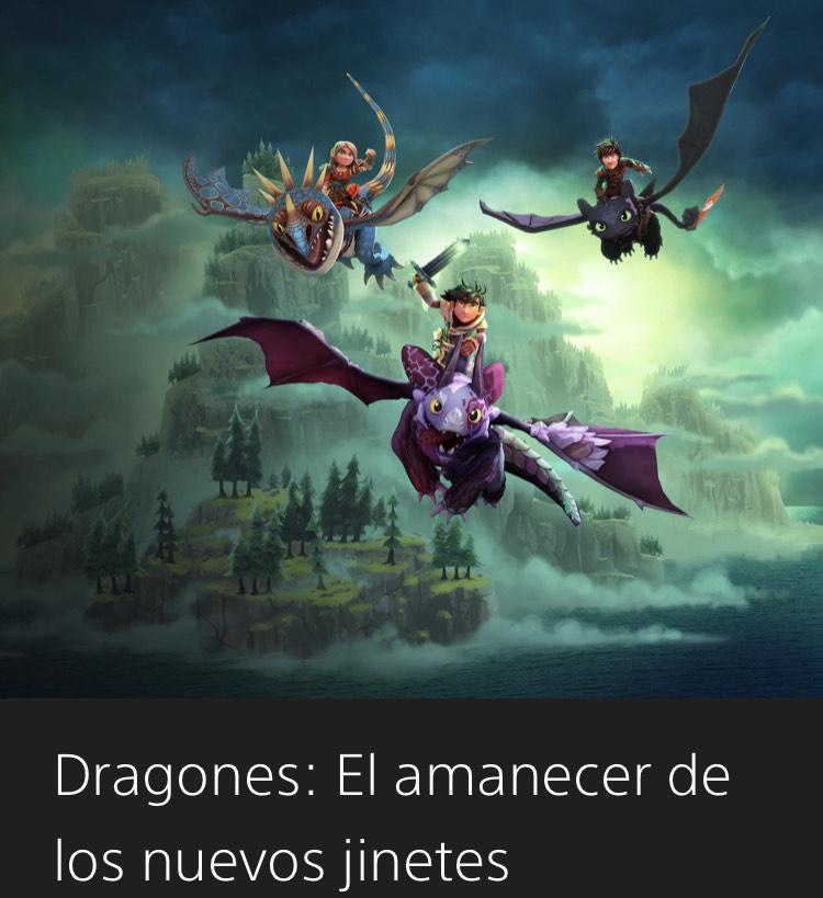 Dragones: El amanecer de los nuevos jinetes ( con PS PLUS)