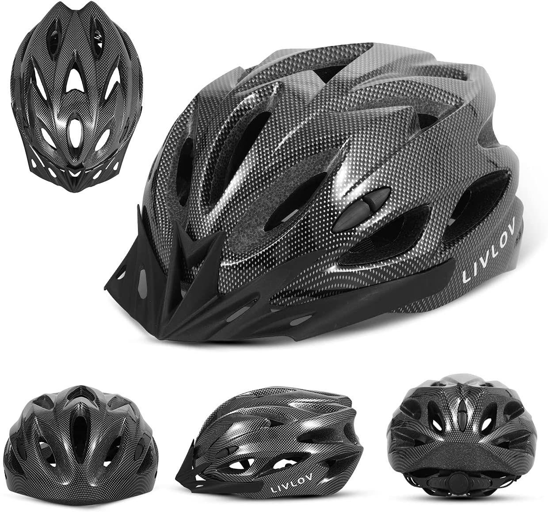Casco de bicicleta ajustable 4 colores para adultos