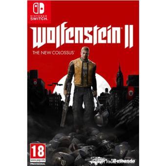 Wolfenstein II Nintendo switch en fnac