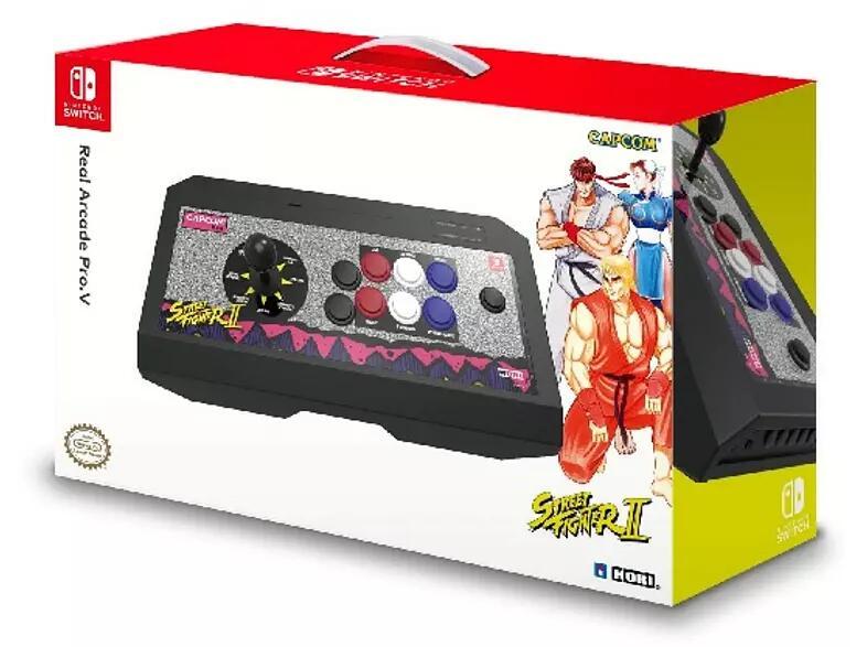 Hori Real Arcade Pro V Hayabusa Retro (Ed. Street Fighter II)