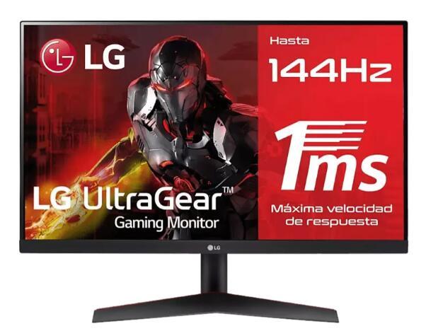 "LG 24GN600-B Monitor 24"" 144HZ IPS HDR10 1ms con FreeSync Premium"