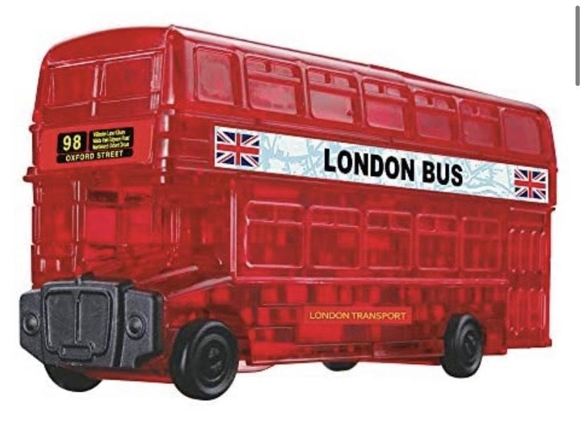 Puzles 3D (53 pieza(s), bus de Londres