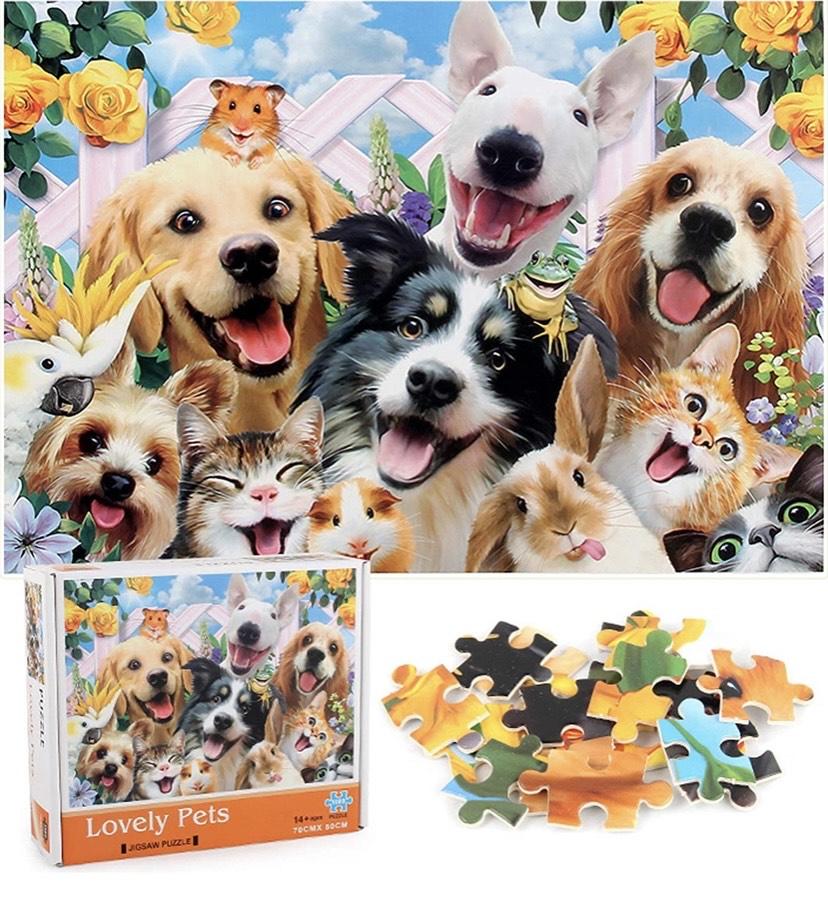Mini reco de puzzles de 1000 piezas desde 7,99