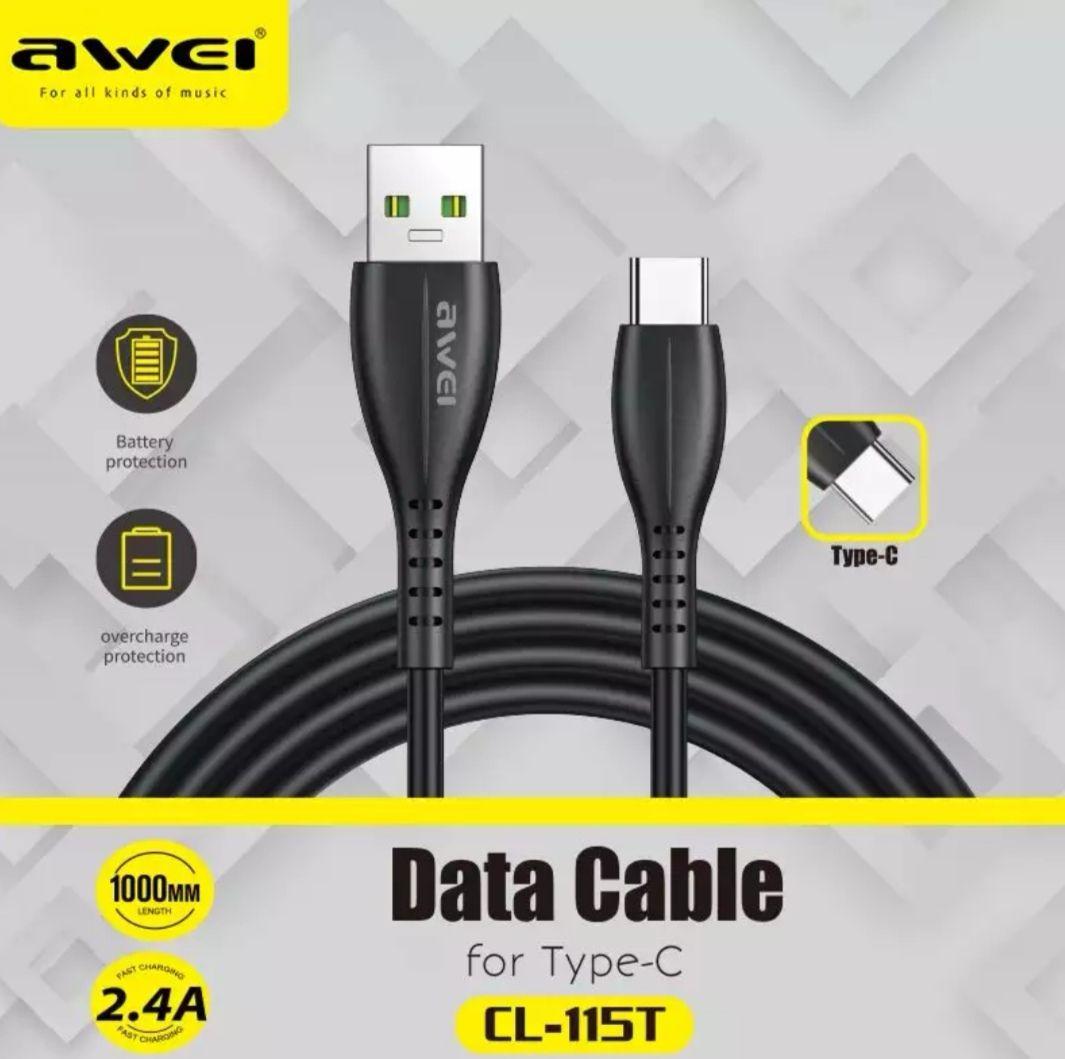 Cable USB Tipo C. De 1 metro de longitud