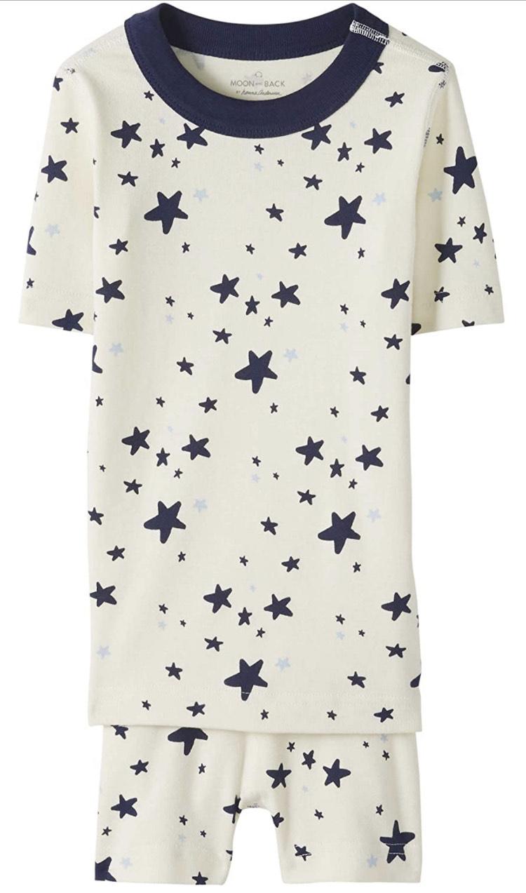 Pijama corto . Talla 5 años