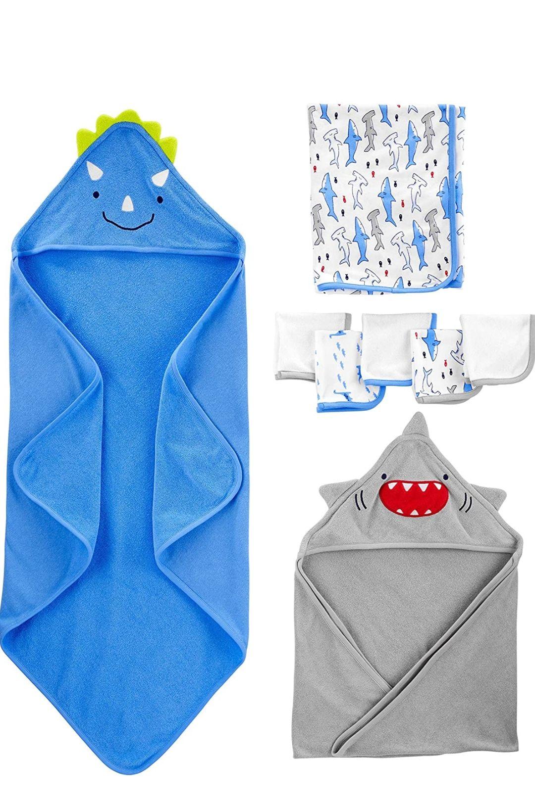 Juego de 8 toallas Simple Joys by Carter's para bebé