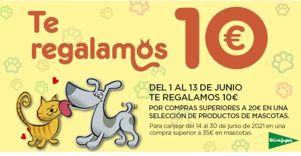 10€ por compras superiores a 20€ en selección