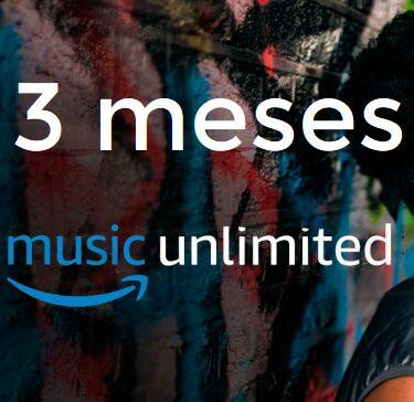 GRATIS :: 4 Meses de Amazon Music Unlimited + Amazon Music HD
