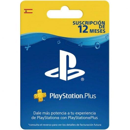 Sony PlayStation Plus Suscripción 12 Meses Digital