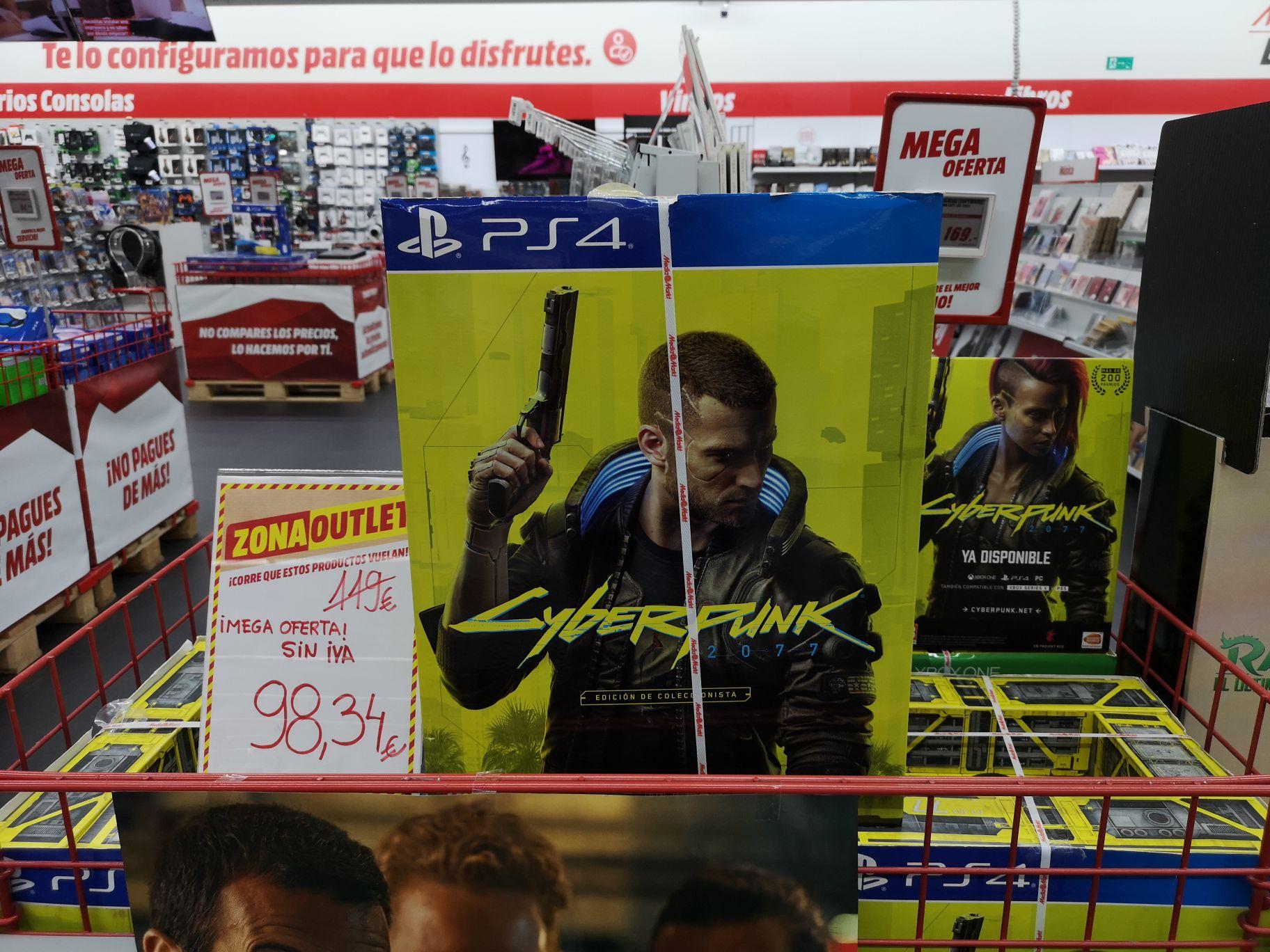 PS4 y Xbox one Cyberpunk Edición Coleccionista