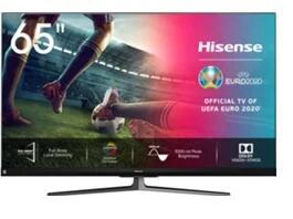 HISENSE 65U8QF [ULED, 4K Ultra HD,Full Array, HDR10+, 120Hz compatible con Alexa]