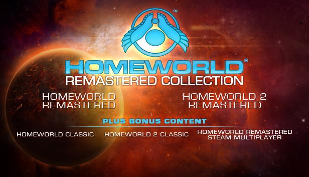 Homeworld remastered colection para Steam