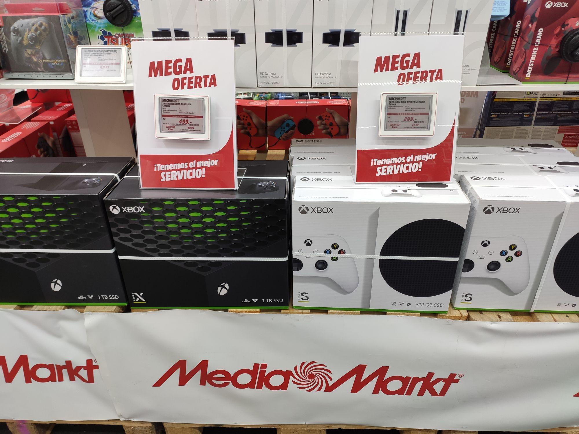 Stock Xbox Series X (Mallorca)