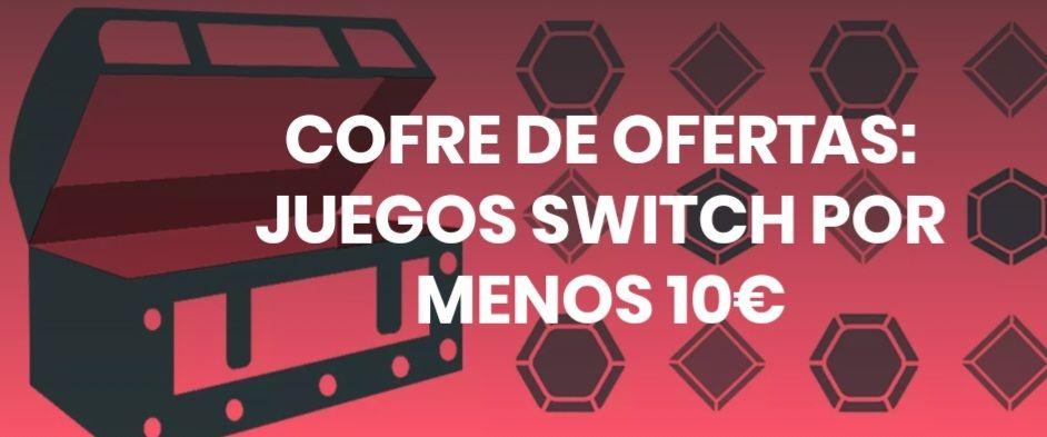 20 Juegos de Switch por MENOS de 10€ cada uno