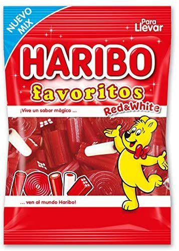 3 bolsas Haribo Red&White 90gr
