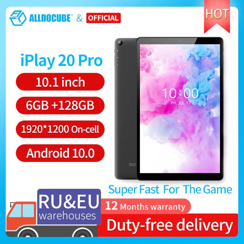 Tablet Alldocube iPlay20 Pro 6GB+128GB [Desde España]