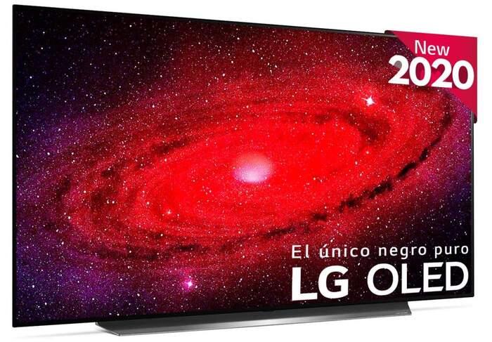 Descuentos en selección de TV LG OLED CX6 + reembolso (compatibles con Alexa)