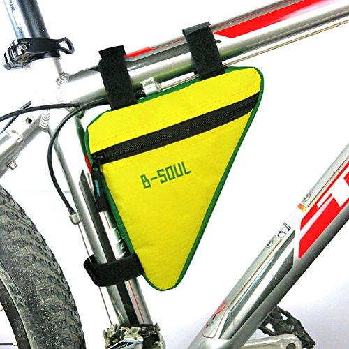 Bolsa triángulo impermeable para cuadro de bicicleta