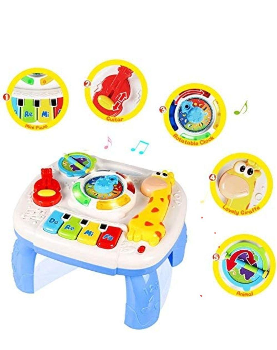 Mesa musical juego bebes