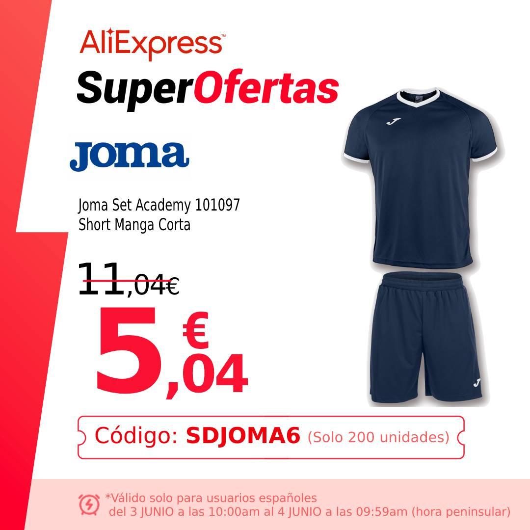 Joma Set Academy - Conjunto camiseta y pantalón corto