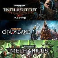 Juega Warhammer Chaosbane, Warhammer 40,000 Martyr Complete Collection y Mechanicus [XBOX]