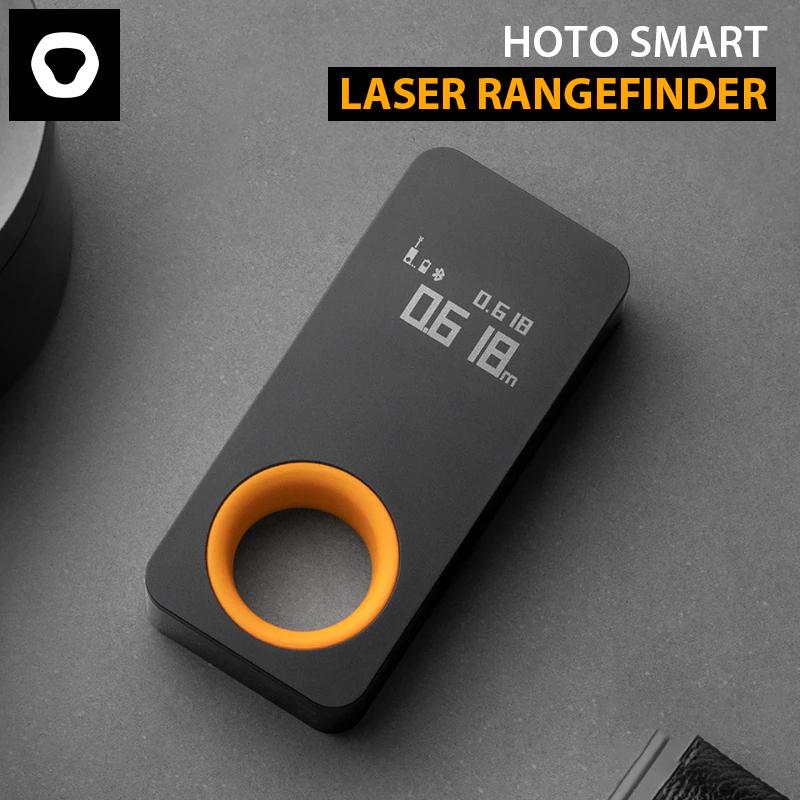 Telemetro láser inteligente preciso a milimetros, pantalla OLED Mijia APP