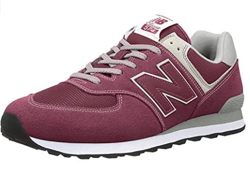 New Balance 574 Core, T45 rojo y más tallas