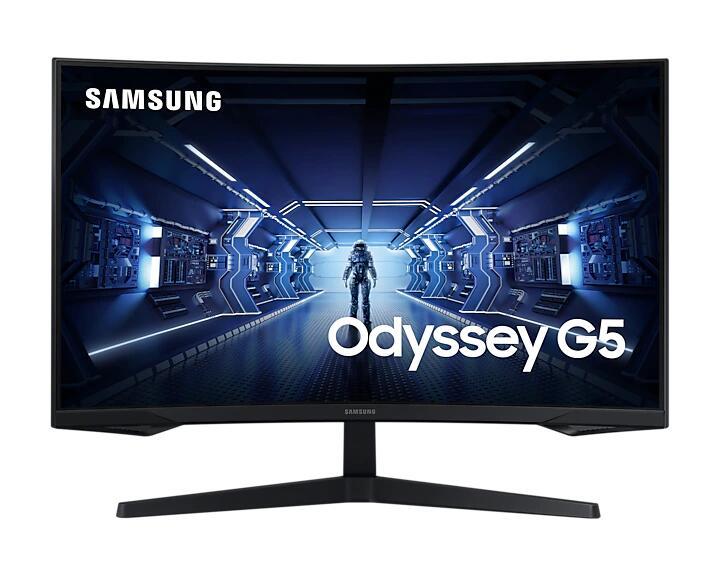 """Monitor Gaming Curvo Samsung Odyssey G5 32"""" 144Hz 1ms"""