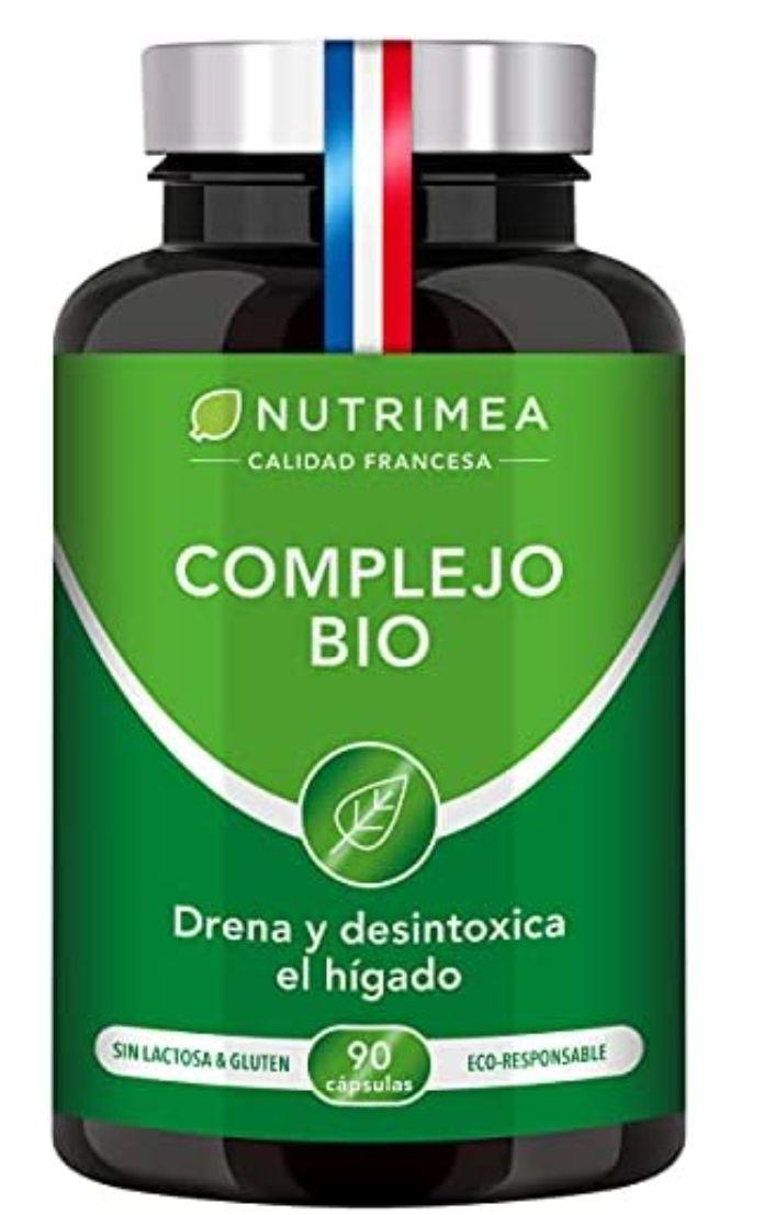 Detox Depurativo Higado y Colon Diurético Natural | Complejo Bio Alcachofa Rábano Negro Cúrcuma Orgánica | Drenante Desintoxicante