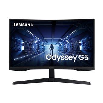 Monitor gaming curvo Samsung Odyssey G5 LC27G55TQWU 27'' por 247,85€