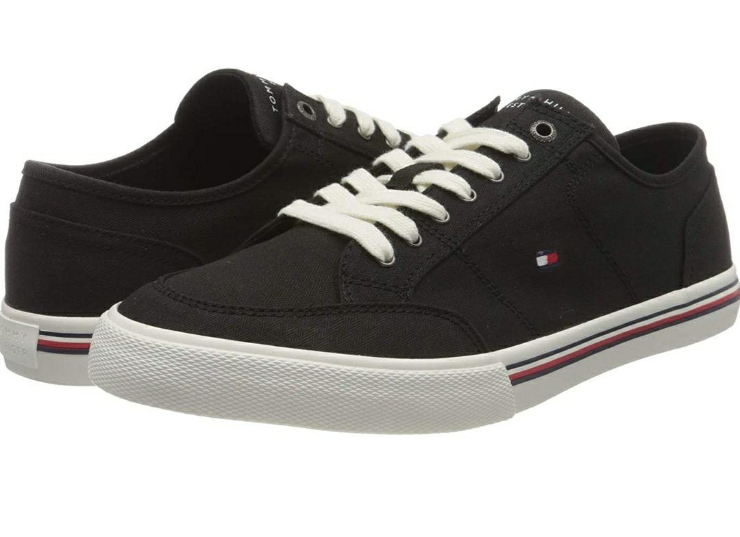 Zapatillas Tommy Hilfiger desde 27€ (negras talla 43) precios varios dependiendo de la talla y el color