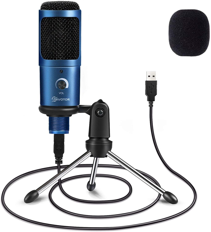 Micrófono PC con trípode solo 13.4€