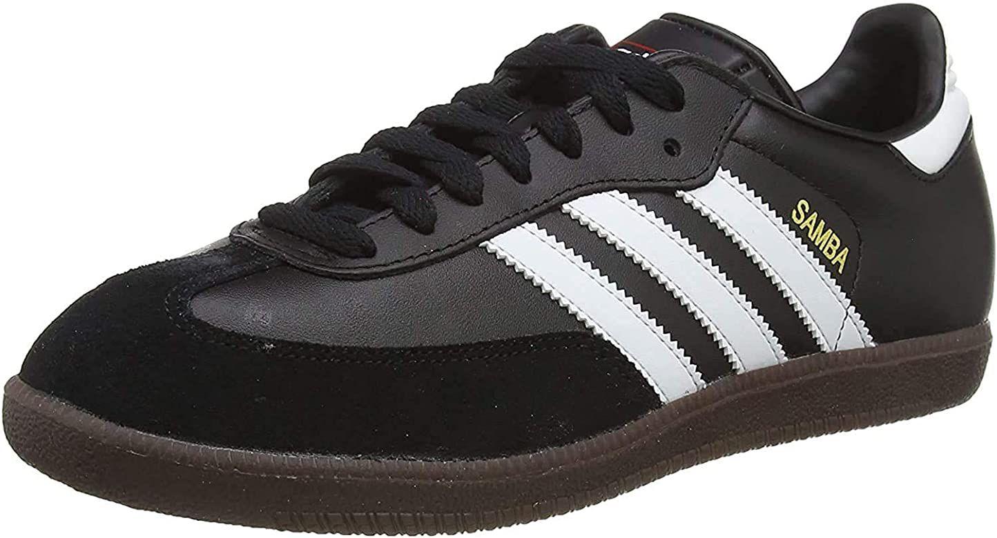 adidas Originals Samba Leather, Zapatillas de Fútbol Hombre, Negro/Blanco, 40 EU, más tallas y precios en descripción