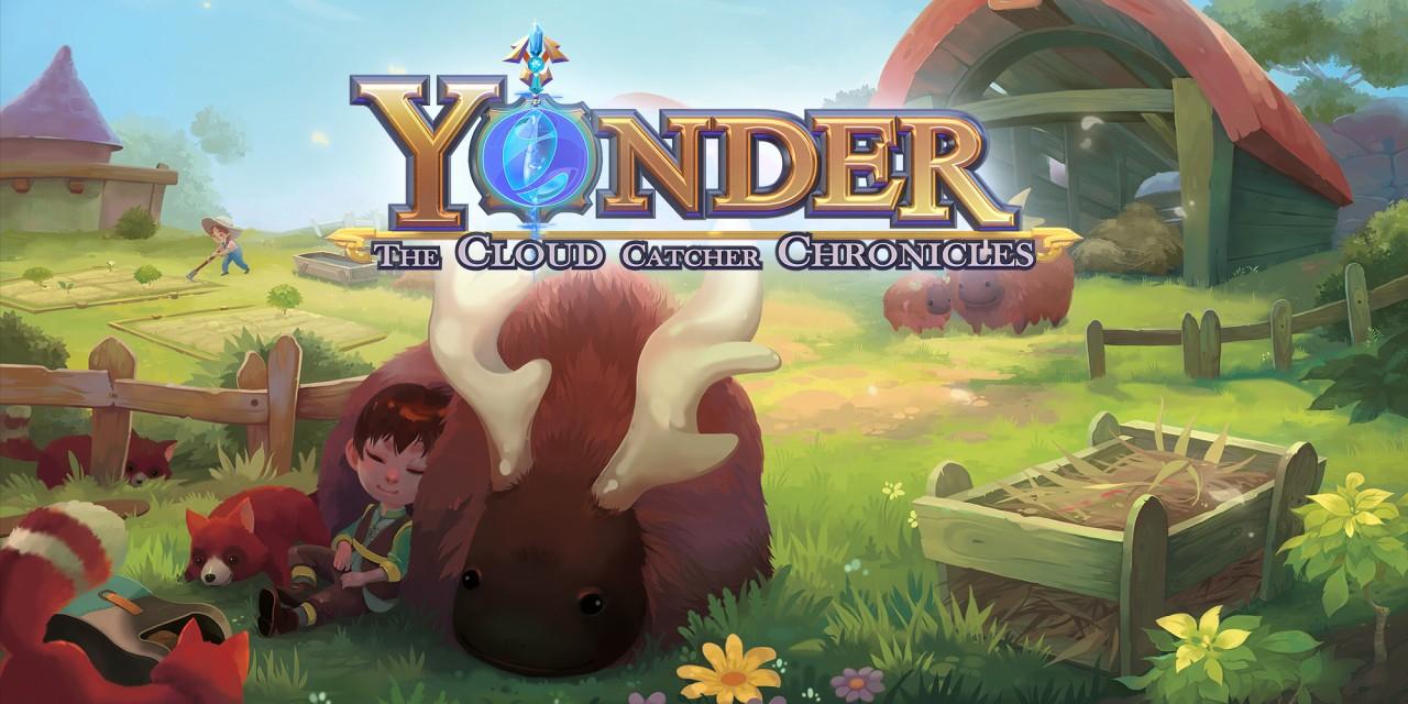 Yonder (juego mezcla de Zelda, Harvest Moon y Animal Crossing) eShop Nintendo RUS