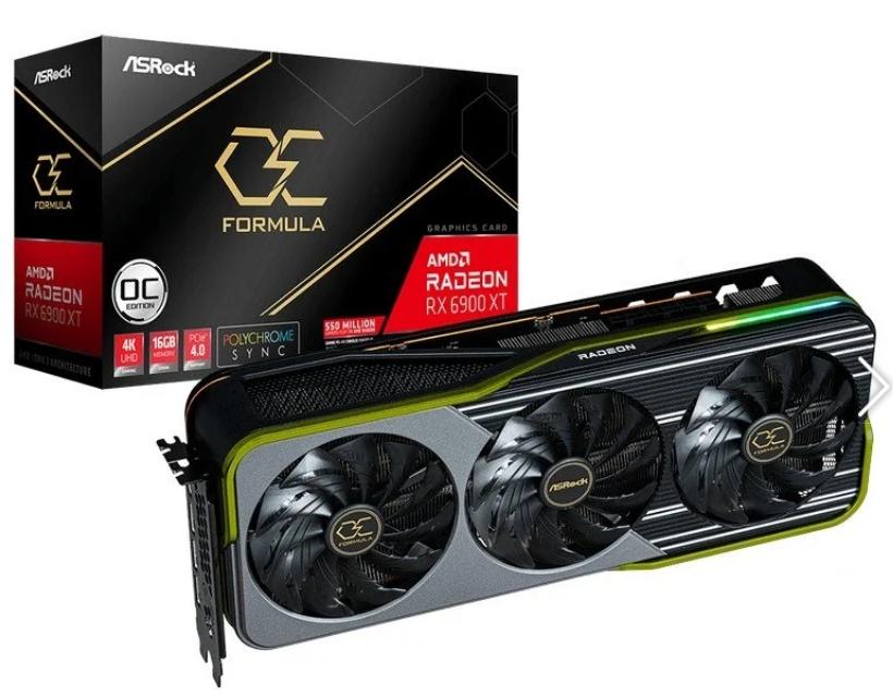 AsRock AMD Radeon RX 6900 XT OC Formula 16GB GDDR6