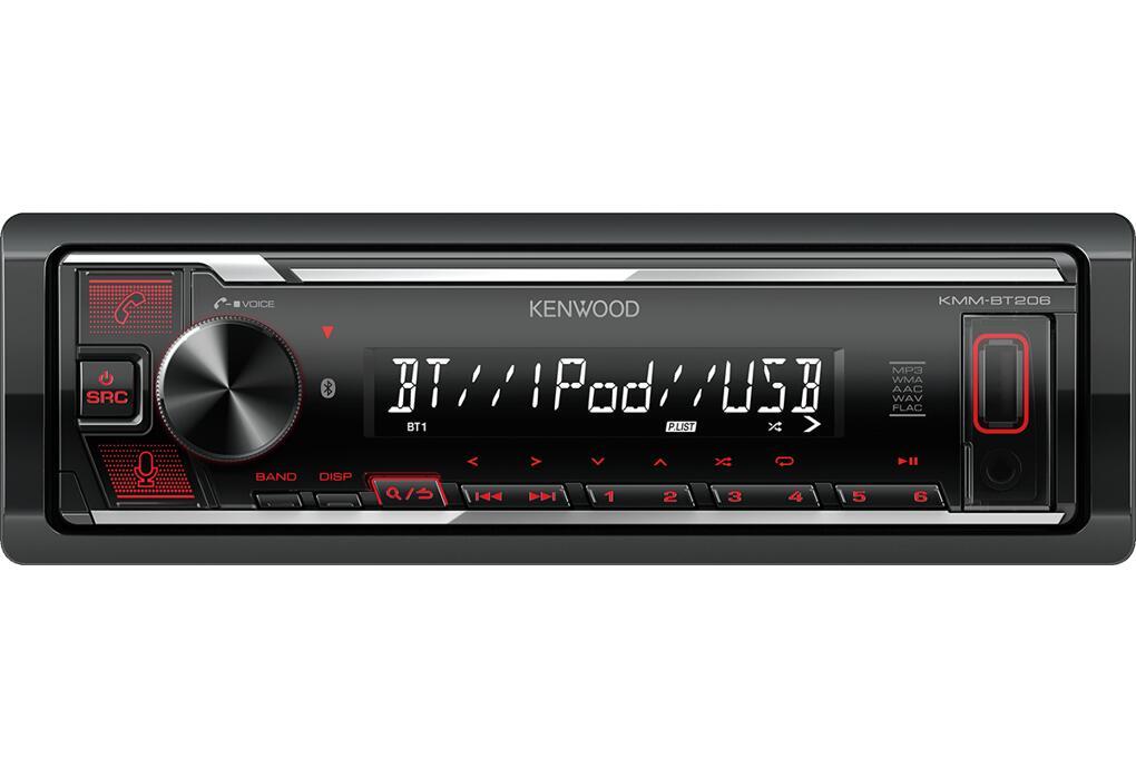 Autorradio KENWOOD KMM-BT206 + bluetooth