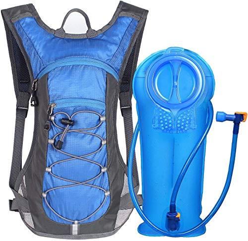 Ciclismo mochila con depósito de hidratación de 2 litros