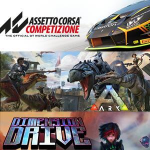 STEAM :: Juega GRATIS Assetto Corsa Competizione, ARK: Survival Evolved, Dimension Drive