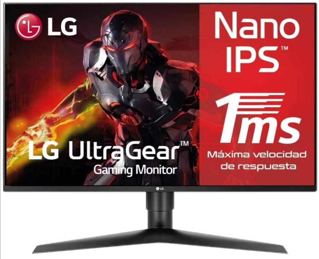 """LG 27GL850-B, Monitor Gaming de 27"""" QHD (2560×1440, IPS 16:9, 144 Hz, 1ms) Negro"""