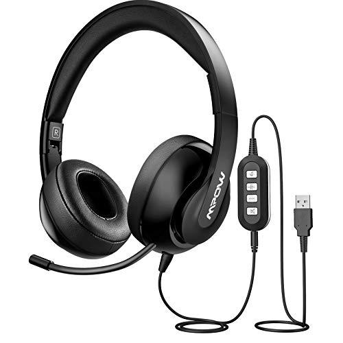 Auriculares Mpow micrófono retráctil por 16,99€