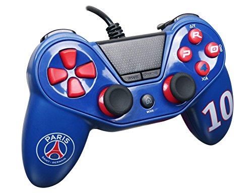 Mando para Playstation 4 – Playstation 3 – PC Pro4 con cable PARIS SAINT GERMAIN