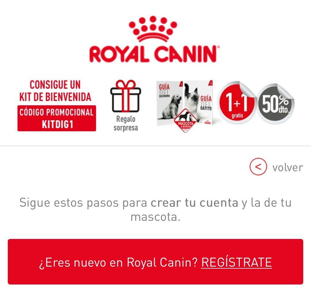 Kit de bienvenida Royal Canin (MASCOTAS)