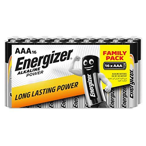 Pack de 16 pilas Energizer Alkaline Power