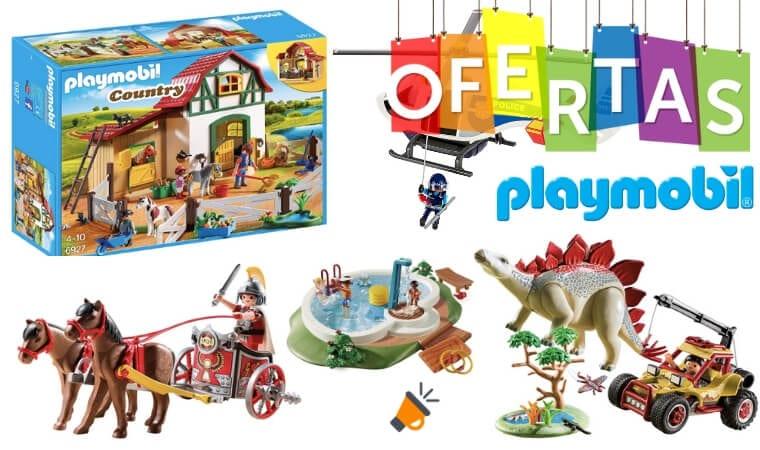 Ofertas top de Playmobil en Amazon