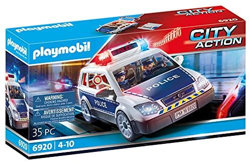 Coche policia Playmobil