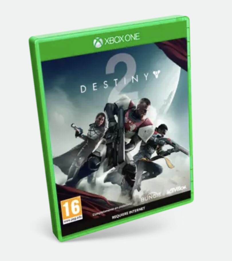 Destiny 2 para Xbox en formato físico