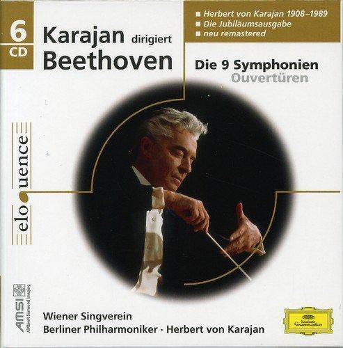 9 Sinfonias de Beethoven / Karajan 2º Integral para DG 1976-77